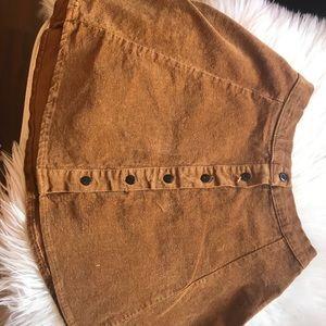 Curdoroy Skirt